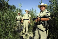 Border Patrol to poison plant life along the Rio Grande