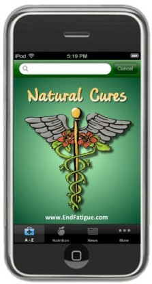 Natural Cures iPhone app