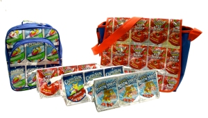 TerraCycle turns used drink pouches into new products like pencil cases and backpacks