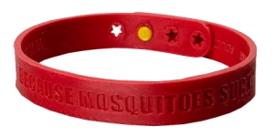 Bug Bam's wristband protects your whole body with all natural essentials oils