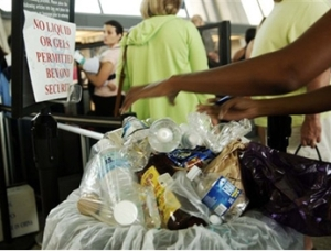 Water bottle waste can cost airports $75,000 a year!