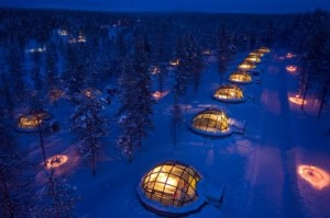 Imagine being snug in the warmth of your igloo surrounded by nature