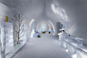 The hotel's Ice Lounge - a James Bond moment anyone?