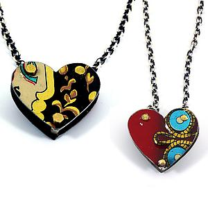 Reversible Heart Pendant