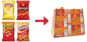 TerraCycle repurposes chip bags into stylish totes