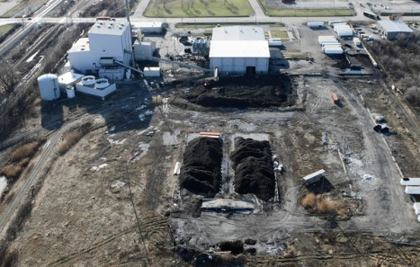 Geneva Energy's Illinois factory burns tires to generate electricity