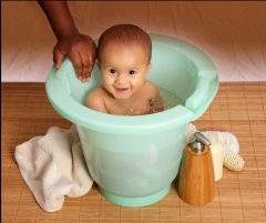Spa Baby Eco is made of recycled plastic and no hamrful chemicals