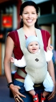Belle Baby carriers distribute weight evenly, making them comfortable for Moms too