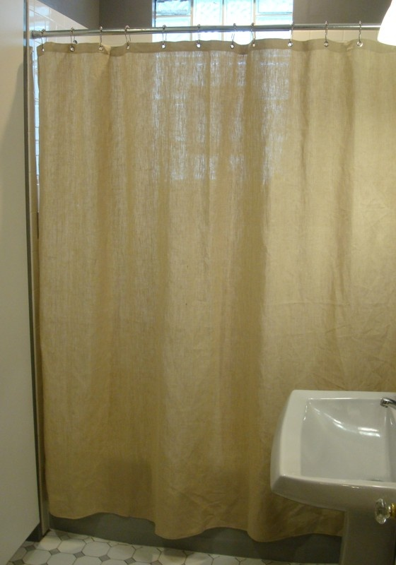 hemp shower curtain envirothink