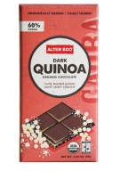 Alter Eco's Fair Trade Dark Quinoa chocolate bar