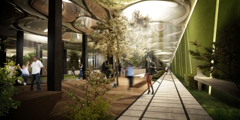 The Lowline - a former trolley area that will be transformed into a unique underground park