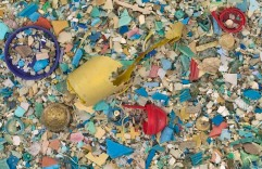 Plastic recovered from our ocean's gyres