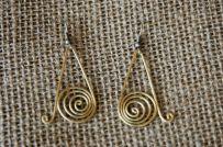 Kuningan Kerucut Earrings Web Photo