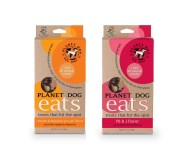 Planet Eats treats for dogs (both varieties)