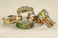 Upcycled Woven Tin Bracelet - Hipcycle