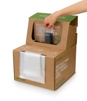 Call2Recycle provides boxes for consumers to recycle batteries and cell phones