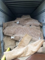 There's a pilot take-back program for used carpet in 6 rural California counties