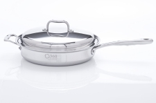 360 Cookware cuts down cooking time and saves in energy costs
