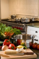 360 Cookware's Vapor technology cooks evenly throughout for perfect results