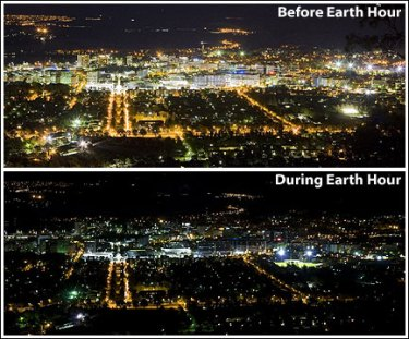 Help celebrate Earth Hour on March 23rd