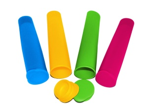 Ice Pop Makers are made of flexible food quality silicone - perfect for frozen treats