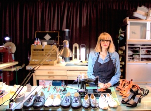 Shoemaker/entrepreneur Stephanie Fryslie aims to bring shoe craftsmanship and manufacturing jobs back to America