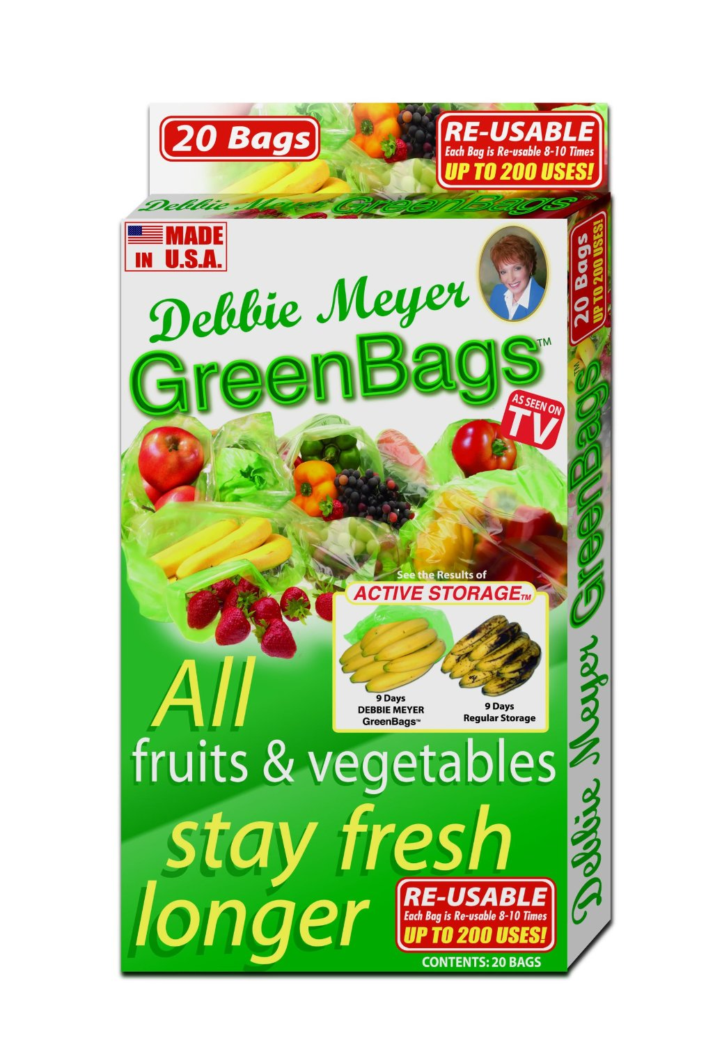 Debbie Meyer Green Bags can really help you cut food waste  sc 1 st  Envirothink - WordPress.com & Keep produce fresh longer with Debbie Meyer Green Bags | Envirothink Aboutintivar.Com