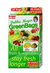 Debbie Meyer Green Bags can really help you cut food waste