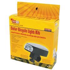 Solar Bike Light Kit