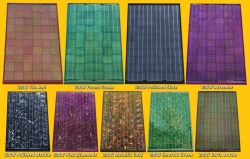 Colored Solar offers an array of colors and styles to enhance any home