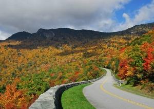 Fall foliage at national park