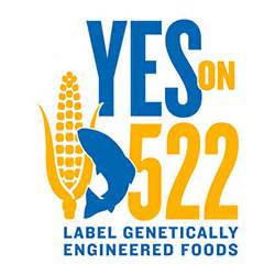 Yes on 522 logo