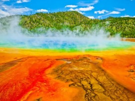 Scientists have learned that the supervolcano beneath Yellowstone National Park is 2.5 times larger than they thought
