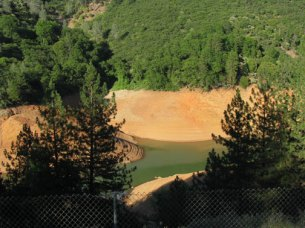 Shasta Lake in drought