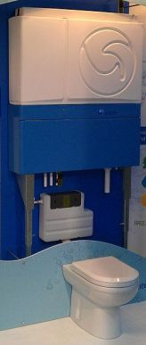 An in-home system to reclaim used water, photo by wipeout 997, from Wikimedia