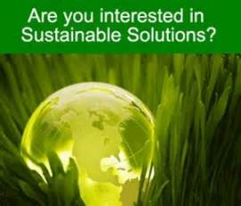 Sustainable Solutions graphic