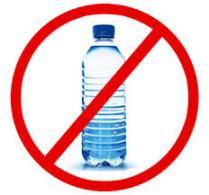 Plastic bottles no more