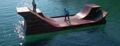 Skateboard ramp clip 3