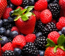 Berries are on the list of foods that will cost more due to the drought