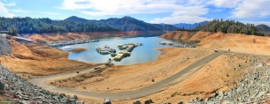Shasta Lake hit hard by the drought