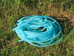 Garden hoses can leach nasty toxic chemicals, photo by Emillian Robert Vicol, flickr