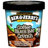 Ben & Jerry's reformulated their Coffee Heath Bar ice cream to nix the GMO's