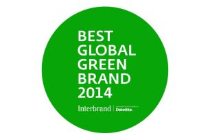 Best Global Green Brands 2014 logo