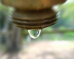 Water drop photo