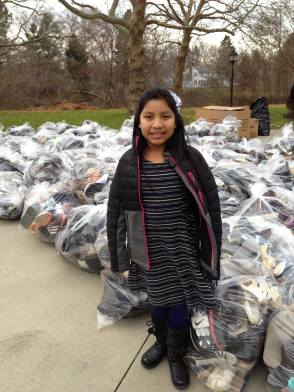 Girl collects 25,000 for Soles4Souls