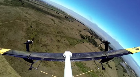 Google X's prototype flying wind turbine. What impact will this have on birds?