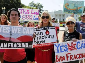 Ban fracking now