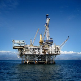 Oil rig - offshore drilling
