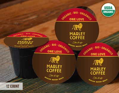 Marley Coffee single serving Capsules