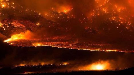 Wildfires in CA 2015